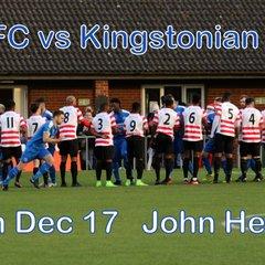 LFC vs Kingstonian FC  9th Dec 17   John Heald