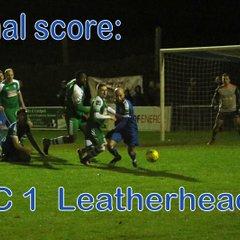 LFC vs Leatherhead  6th Jan '18  John Heald