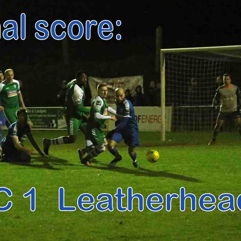 LFC vs Leatherhead  6th Jan '18  John Heald