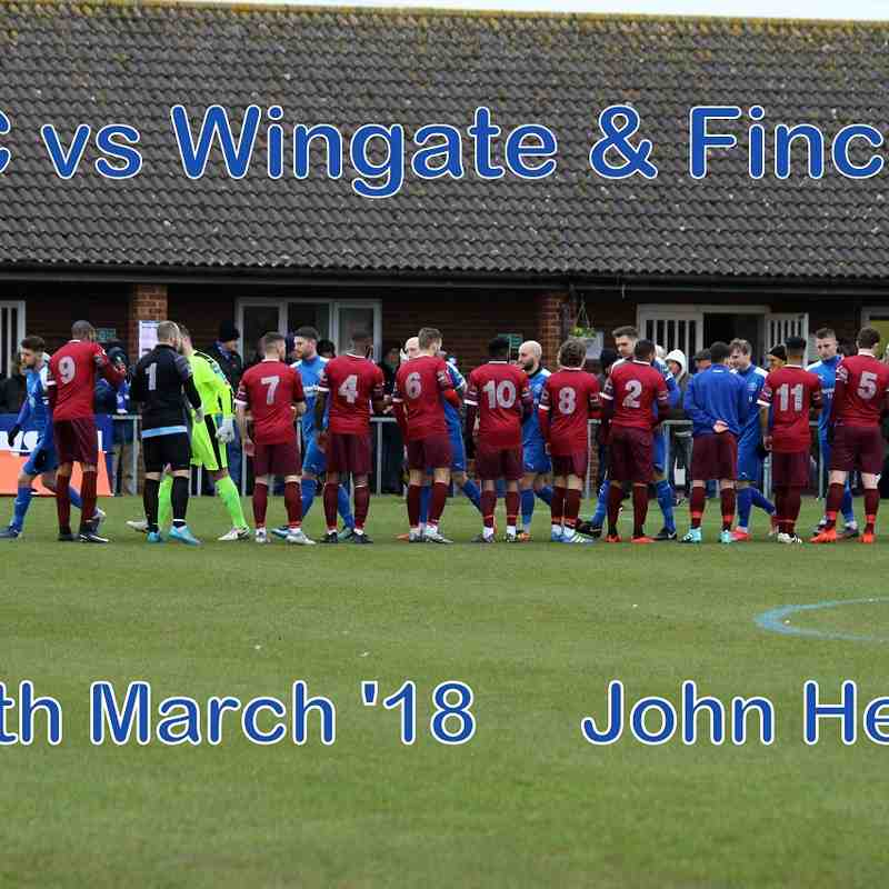 LFC vs Wingate & Finchley   17th March '18   John Heald