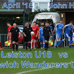 Leiston U18 vs IW U18  23 April '18   John Heald