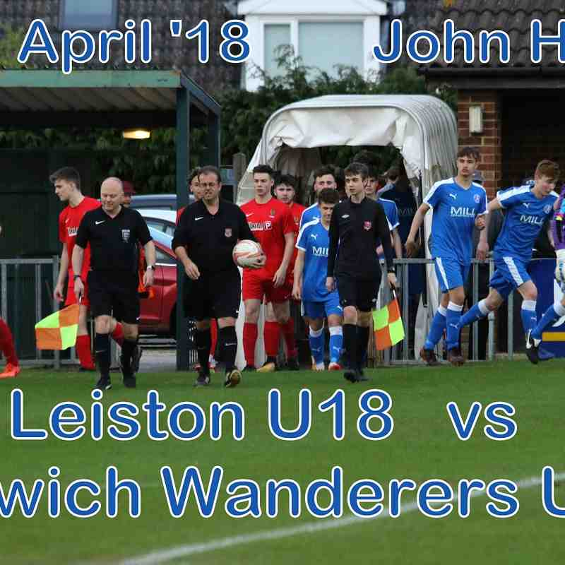 Leiston U18 vs IW U18  23 April '18   John Heald