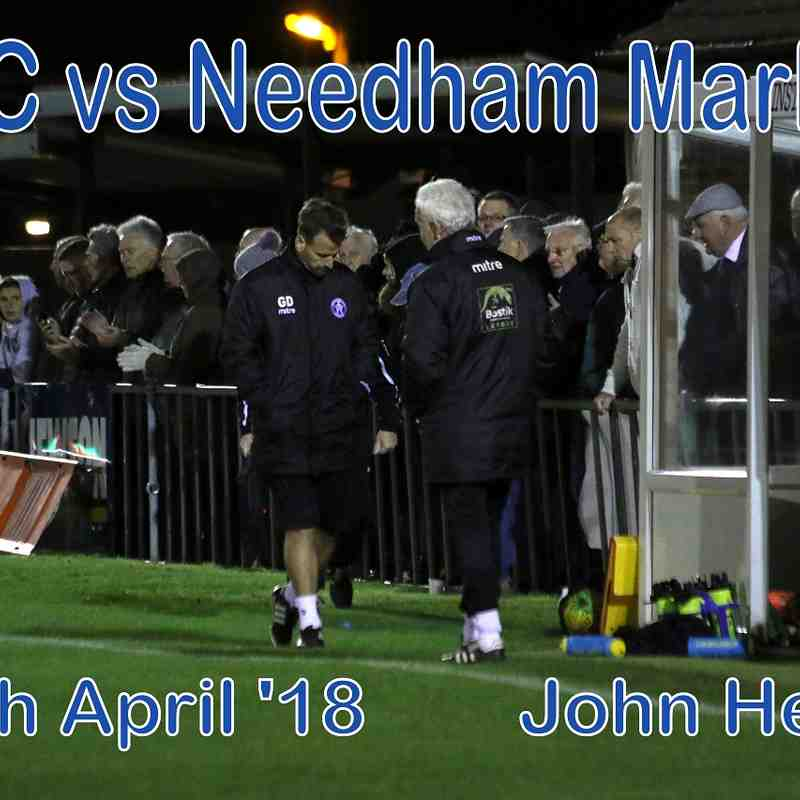 LFC vs Needham Market  24th April '18  John Heald
