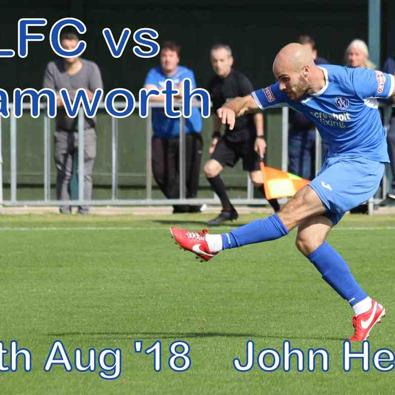 LFC vs Tamworth  25th August 2018   John Heald