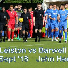 LFC vs Barwell  29 Sept 2018   John Heald