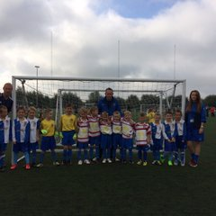 Stalybridge Celtic U7's Whites & Blues