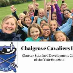 Chalgrove win Charter Standard Development Club of the Year