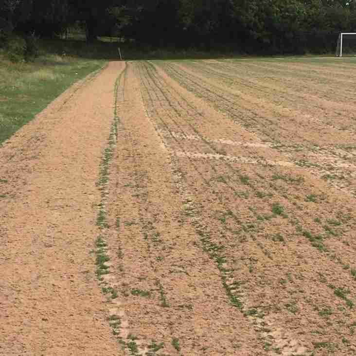 Full Size Pitch Under Repair