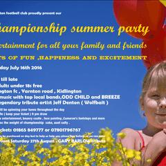 KFC Summer Party