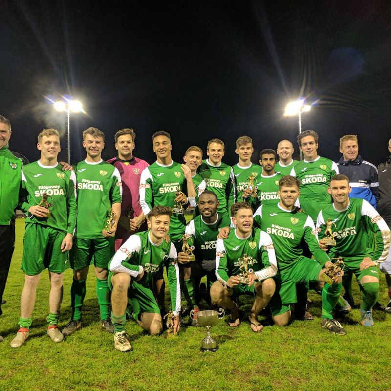 Reserves Win The Cup!