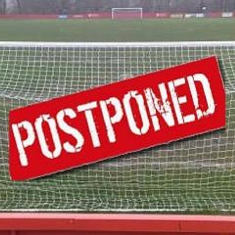 Tonights Match Against Adderbury Postponed