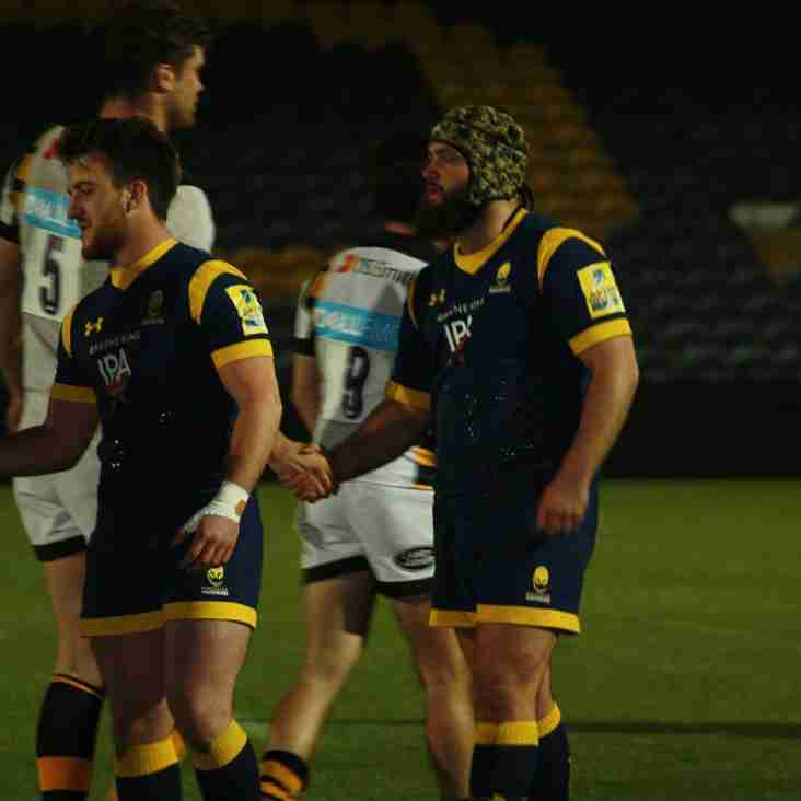 DK Boy on for Worcester Warriors Cavaliers