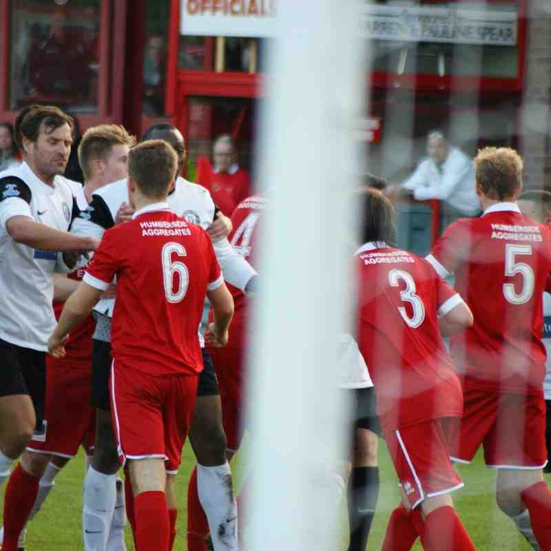 Bridlington Town 1 Heanor Town 2  ( Booth, Ricketts )
