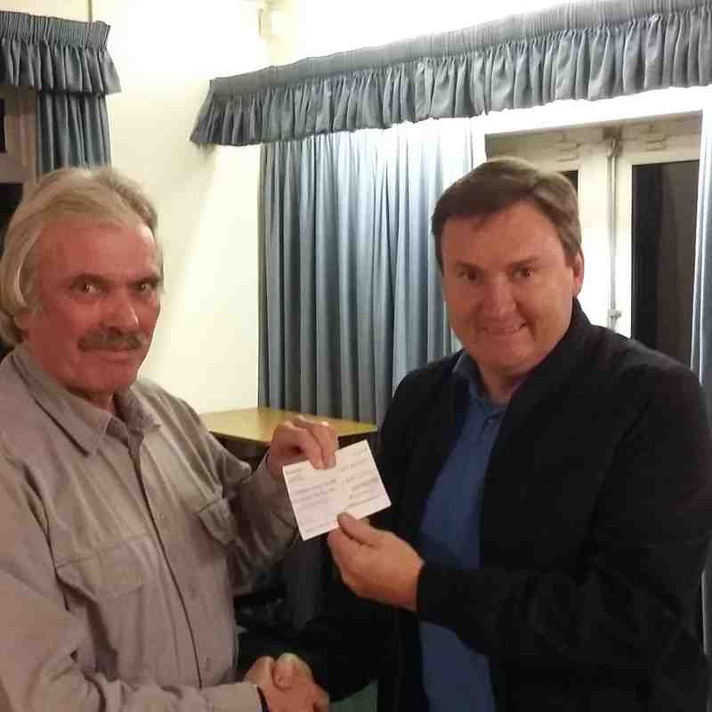 Charity Cheque presentations