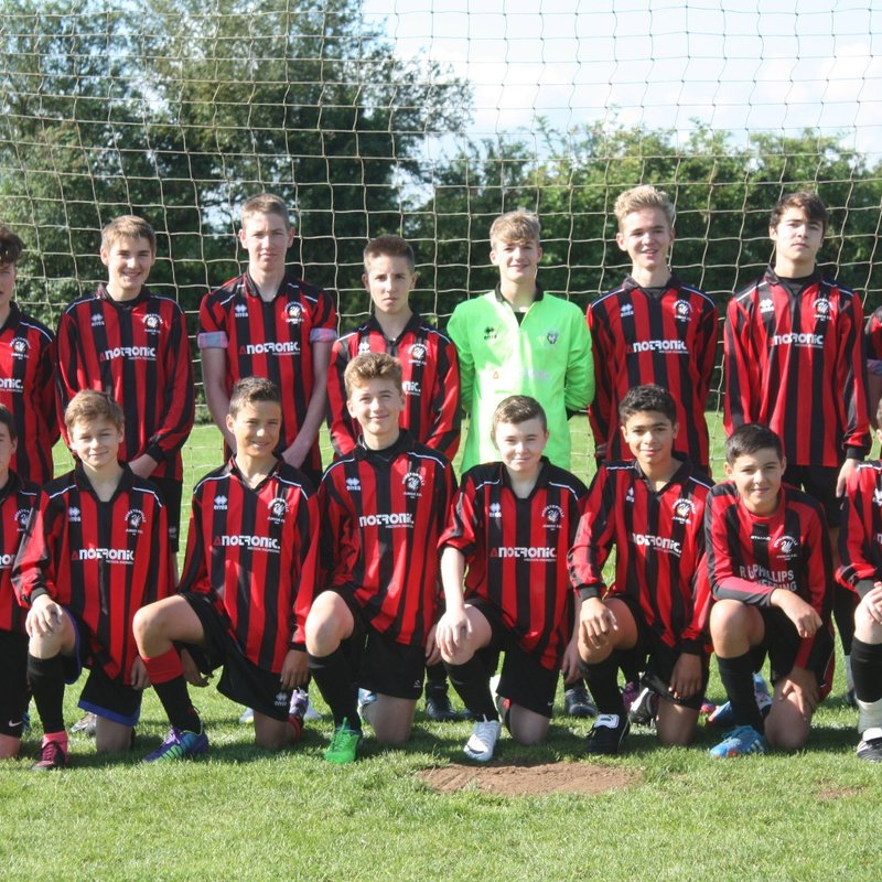 U16 Rovers lose to Winslow United 4 - 2