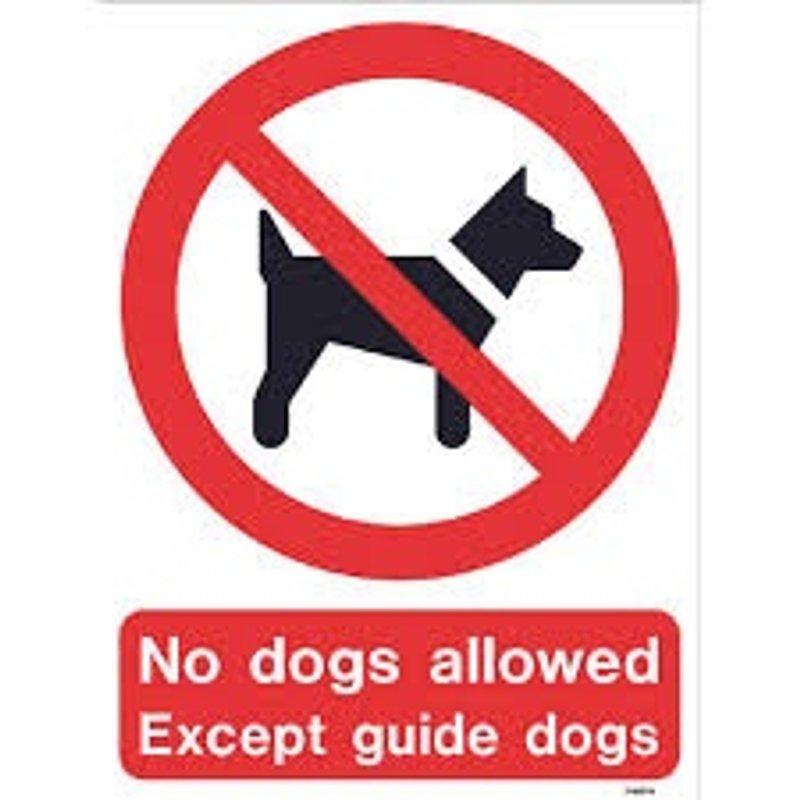 No Dogs Allowed at Gawcott