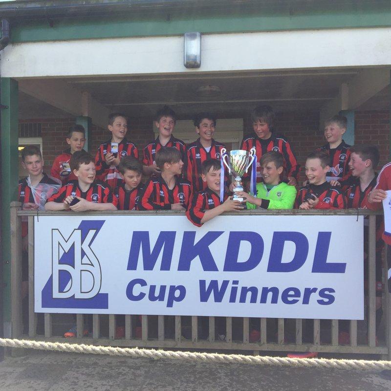 U12 Tornadoes Win MKDDL Plate