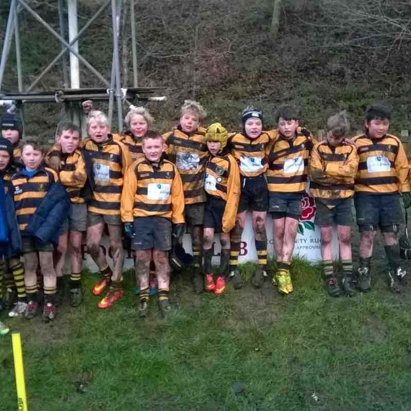 Under 11's - Cup Match 7th December 2014