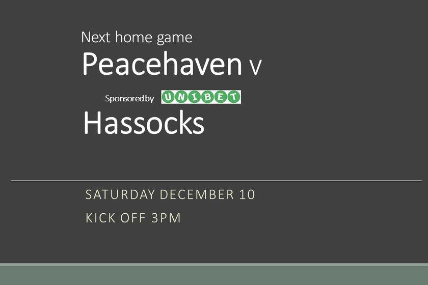 Haven host Hassocks