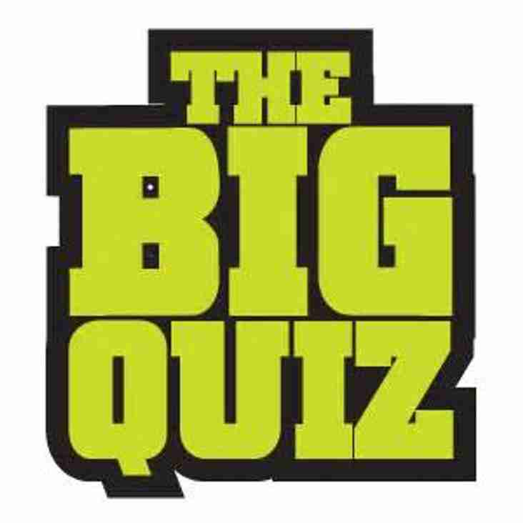 The Big Quiz is back on Friday