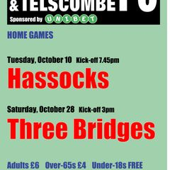 October's home games