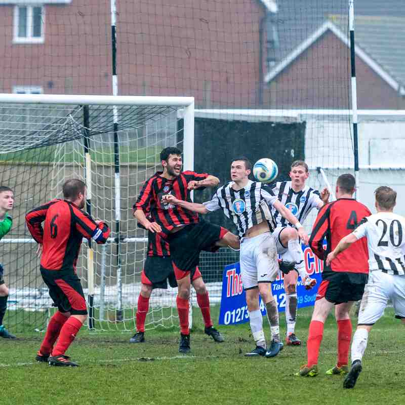 Peacehaven v Worthing Utd March 3 2018