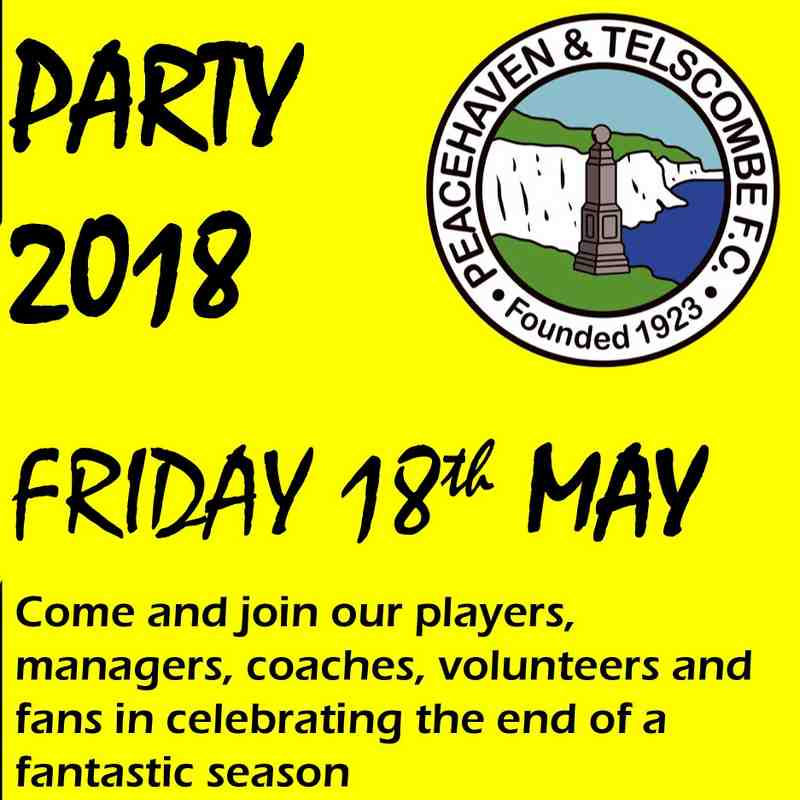 End of season party 2018