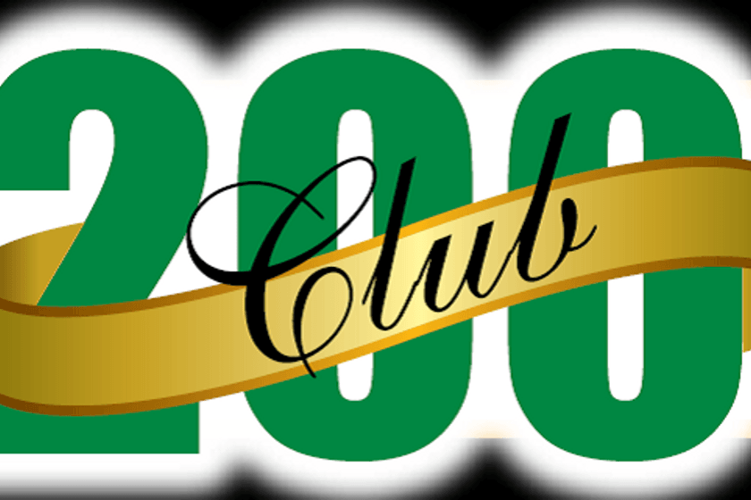 Win brilliant cash prizes with The 200 Club