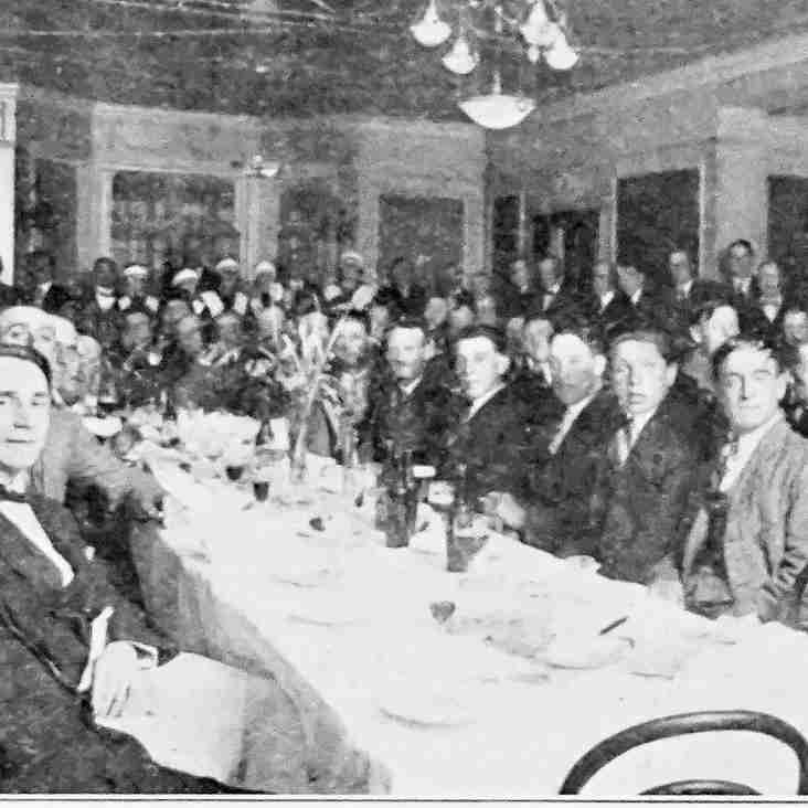 First annual dinner… 1924 style!