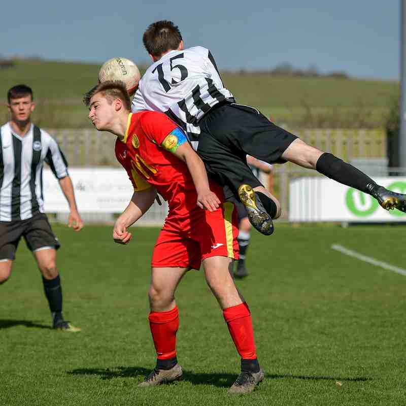 Peacehaven U18s v Newhaven U18s March 24 2019