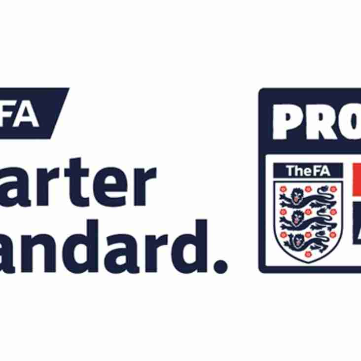 FA Charter Standard has been achieved