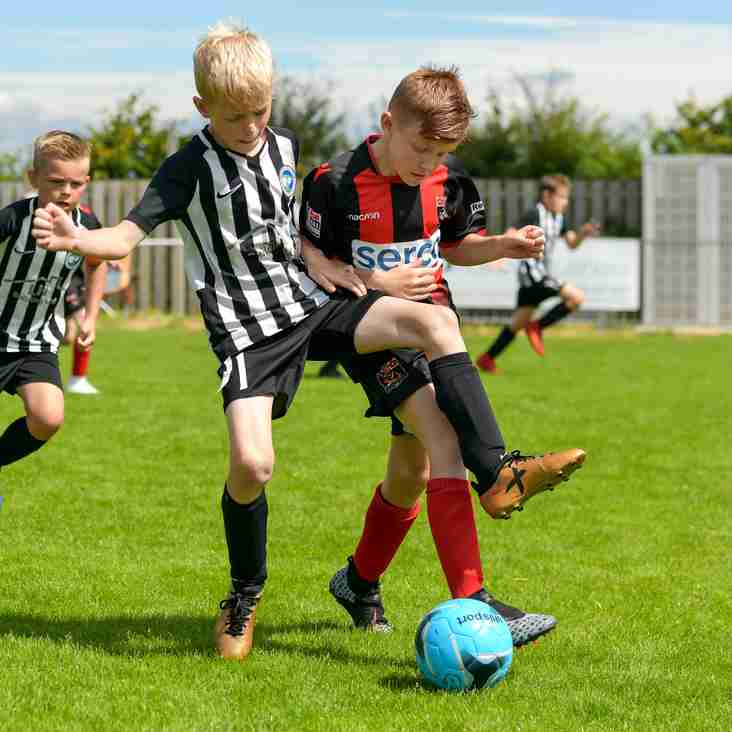 Goals and entertainment galore as the kids descend on Peacehaven