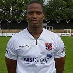 Ugo Udoji signs for the Angels