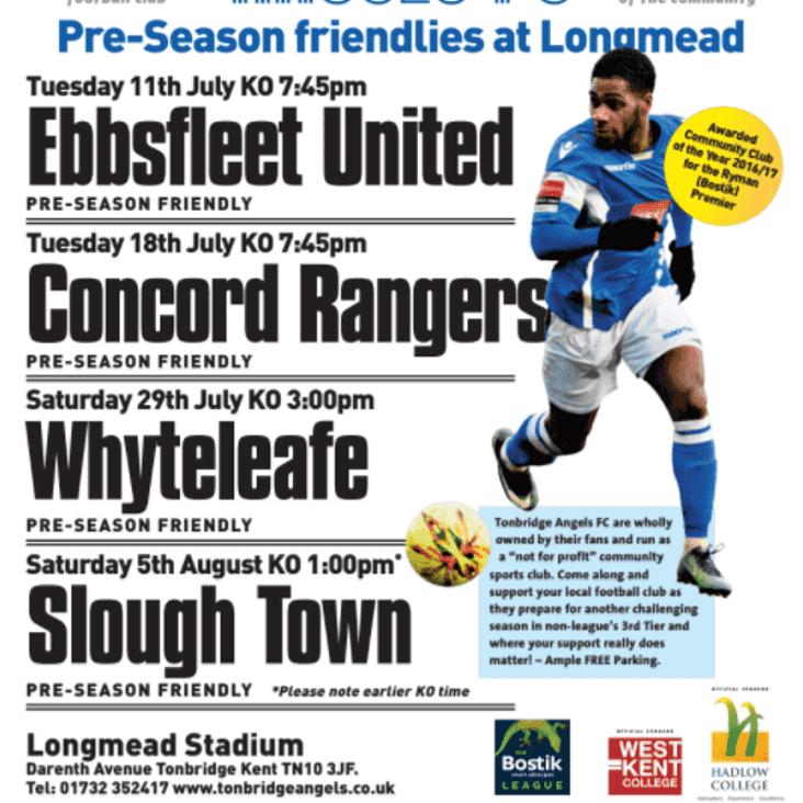 Pre-Season Poster Released