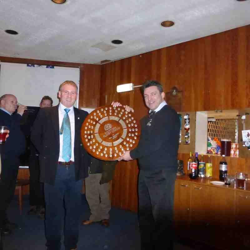Hawks win Bill's Shield - 5/12/15
