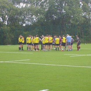 Training match at Burnbrae