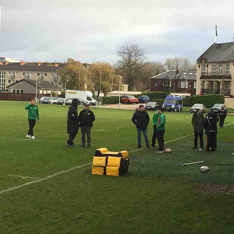 Hawks v Highland BT Cup