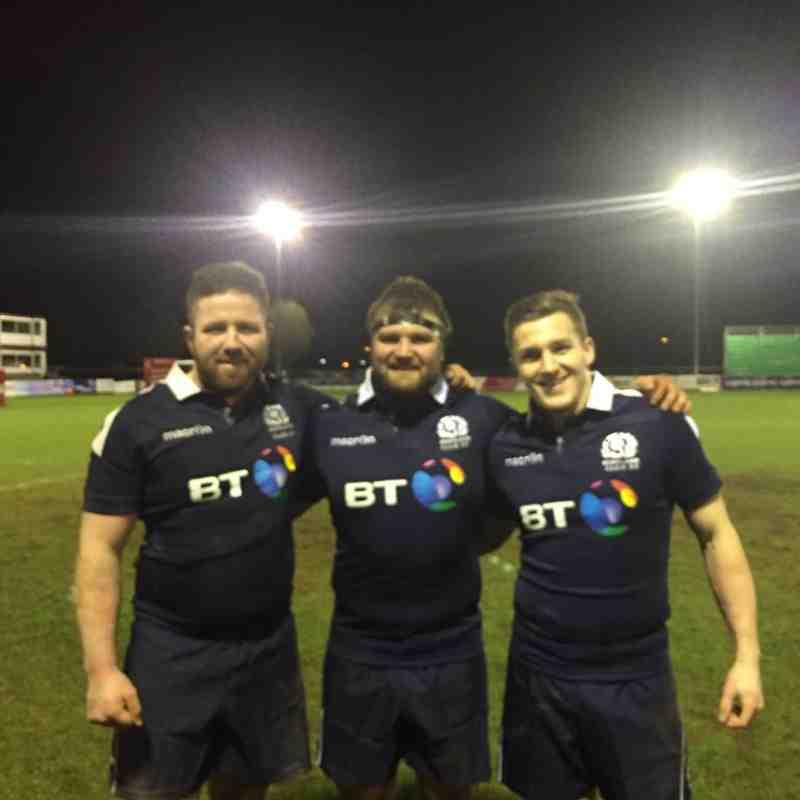 Scotland Club XV v English Counties