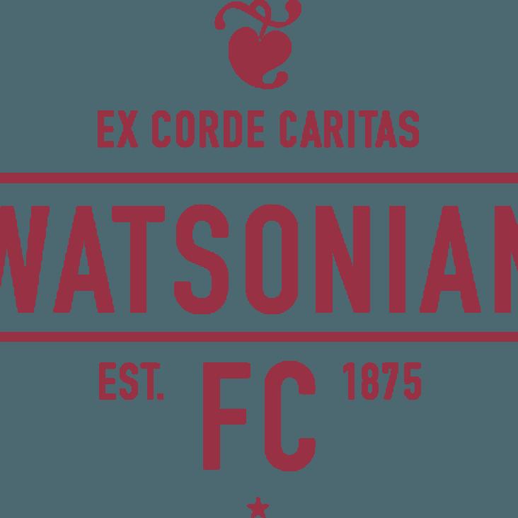 Hawks Team to play Watsonians