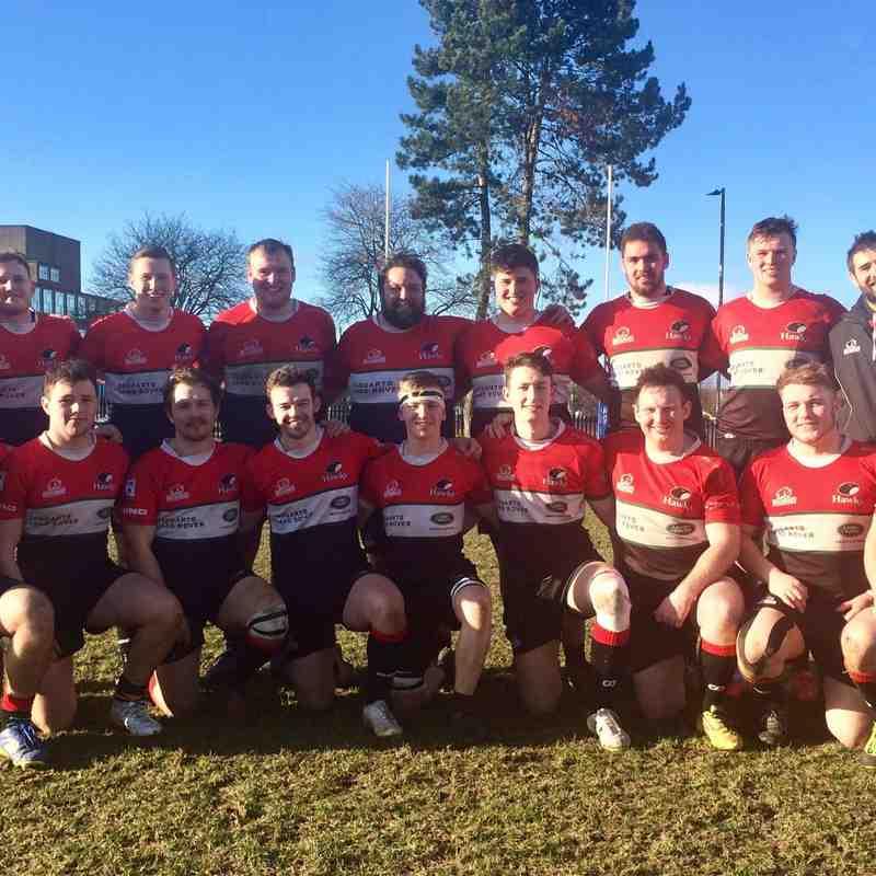 Hawks 2s v Boroughmuir March 2018