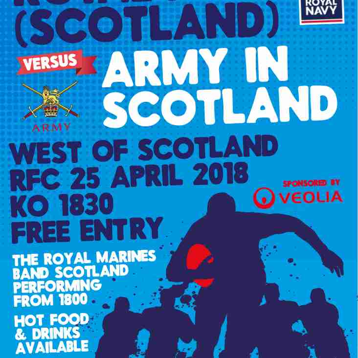 Inter Services Rugby comes to Burnbrae