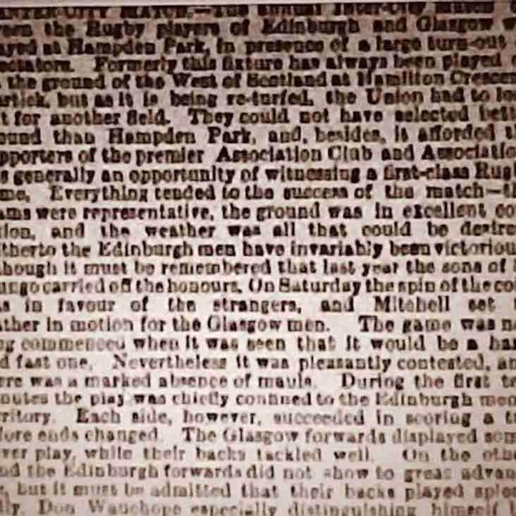 Sons of St Mungo beat Edinburgh at Hampden