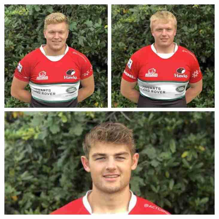 Three Hawks in Scotland 20s Squad