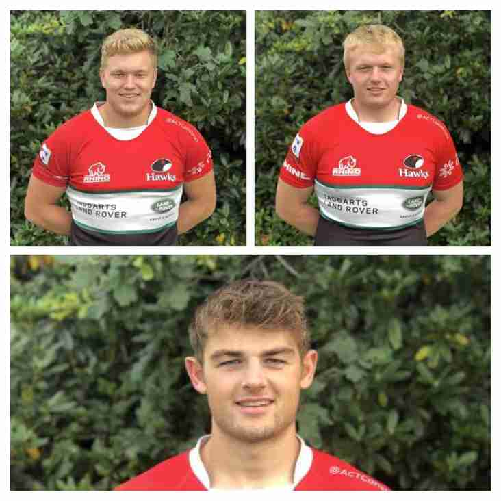 Three Hawks face IRELAND 20s