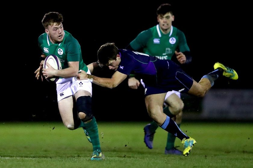 Scotland 20s lose to Ireland