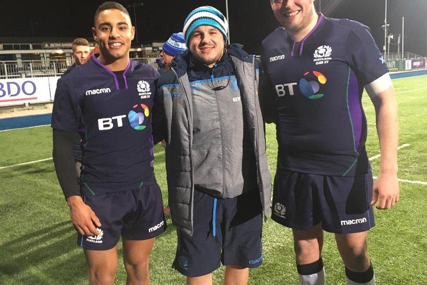 Scotland Club XV draw at Donnybrook