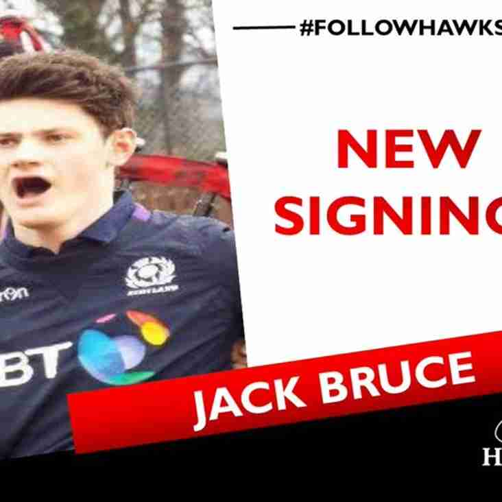 Jack Bruce comes to Hawks