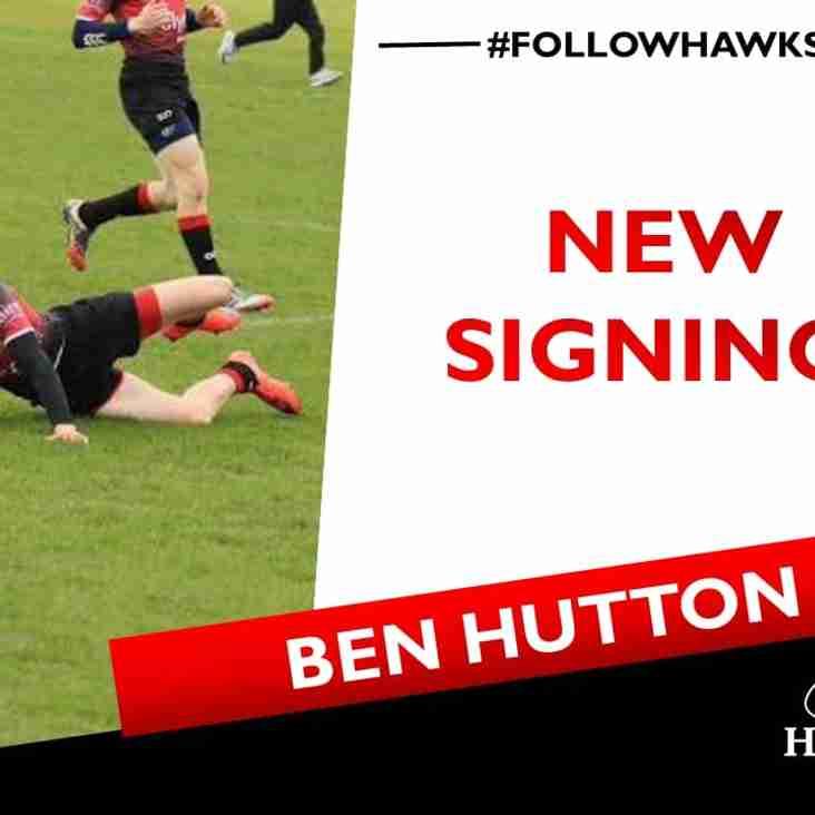 Next up Ben Hutton