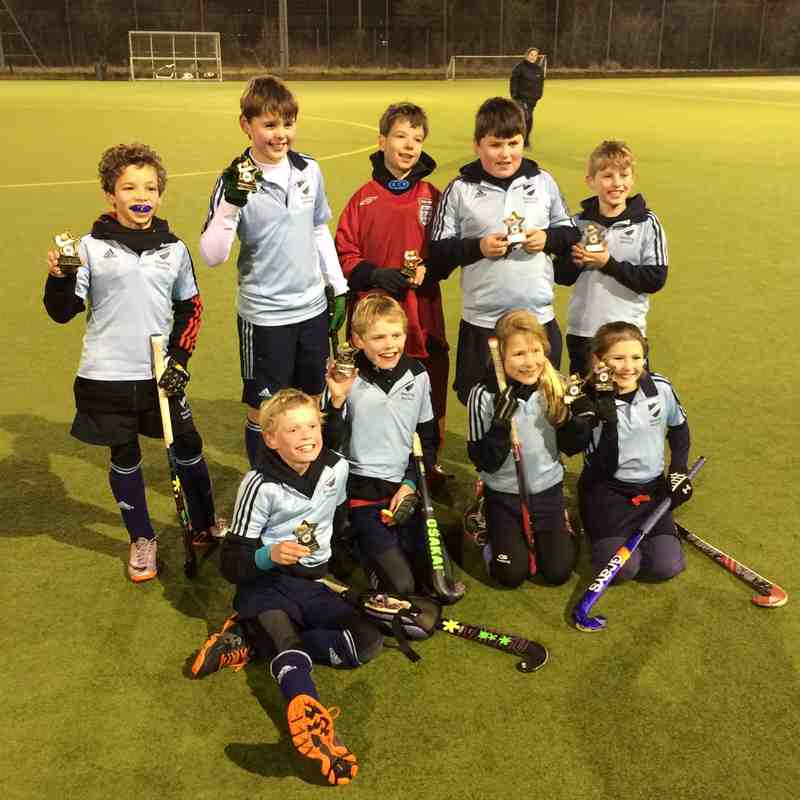 U10 14.15 Wallingford winners
