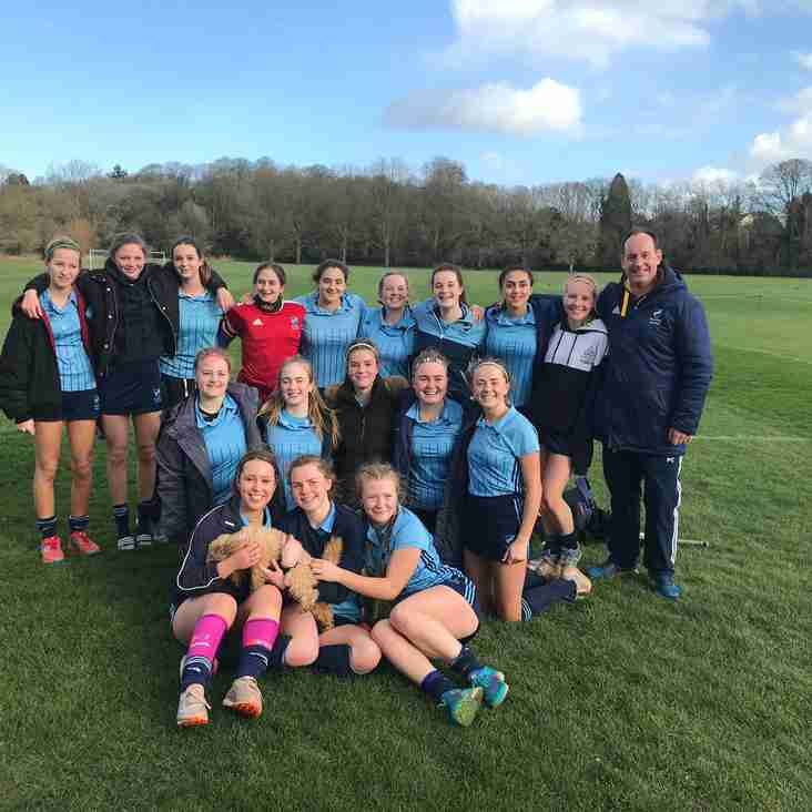 Girls Under 16s march on